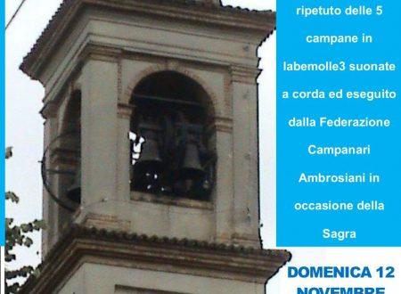 """Palazzo Pignano: domenica 12 novembre dalle ore 09.30 """"Concerto solenne di campane"""""""""""