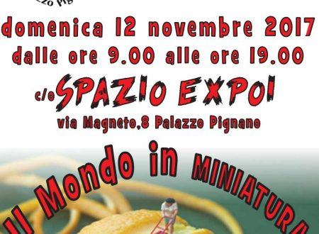 """Palazzo Pignano: domenica 12 novembre dalle ore 09.00 """"il mondo in miniatura"""""""